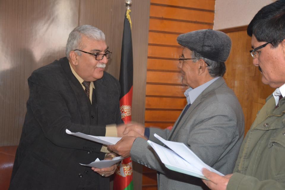 تفاهمنامه دو جانبه میان ریاست محترم پوهنتون بلخ و مؤسسه تحصیلات عالی خصوصی ترکستان